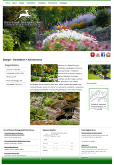 Hartland Designs Inc, Web Development, SEO, Social Media Integration