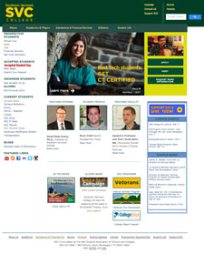 Southern Vermont College - Web Development, Social Media Integration, Digital Marketing Strategies